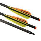 """20"""" Carbon Crossbow Bolts Easton Vanes Hunting Hybrid Carbon Shafts Arrows"""