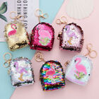Внешний вид - Sequins Coin Purse Women Kids Mini Backpack Wallet Keys Card Holder Earphone-Bag
