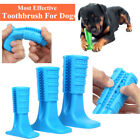 Pet Brushing Stick Teeth Cleaning Chew Toy Toothbrush For Dogs Pet Oralcare Blue