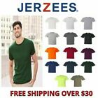 JERZEES Mens Heavyweight Blend 50/50 T Shirt with Pocket Tee Big Sizes S-5X 29P image