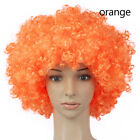 Curly Afro Fancy Dress Wigs Mens Ladies Costume Funky Disco Clown Style 70s Hair