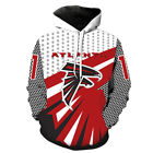 NFL Atlanta Falcons Fans Fashion Hoodies Sweater Jackets on eBay