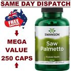 SAW PALMETTO PREMIUM BRAND Swanson 250 Capsules PROSTATE AID AUS STOCK FAST SHIP $30.95 AUD on eBay