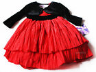 NWT Girls Dress NEW Christmas Holiday Birthday Party Wedding 6m 9m 12 18 24m red