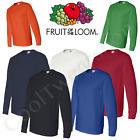 Fruit of the Loom HD Cotton Long Sleeves Blank T-Shirt 4930R image