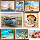 Внешний вид - Beach View 5D Diamond Painting DIY Embroidery Cross Stitch Home Decor Holiday