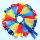 Skirts Rainbow Tulle Tutu Ballet Sweet Toddler Baby Girls Colorful Dance Outfits