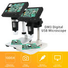 """1000X 4.3"""" LCD 3.6MP Electronic Digital Video Microscope for Mobile Phone Repair"""