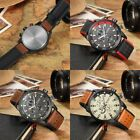 Curren M8250 Men Leather Band Strap Watch Mechanical Relogio Masculino Watch CN image