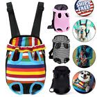 Dog Cat Nylon Pet Adjustable Puppy Carrier Backpack Front Tote Travel Net Bag US