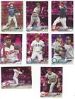2018 Topps Mini (Online Exclusive) Pink Parallel #/25 -Pick Your Card From List