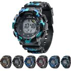 Kids Boys Girls Digital LED Waterproof Multi Function Sports Wrist Watch Unisex  image