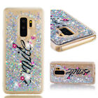 For Samsung Galaxy S9 S8 Plus S7 S6 A8 Phone Case Glitter Quicksand Cover Skin