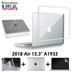 For 2018 New Macbook Air A1932 13.3 inch Glossy Crystal Hard Case KB Cover LCD