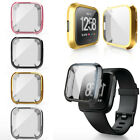 For Fitbit Versa Band Fitness Designer Sleeve Case Plating Protective Cover~