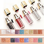 Pro Metallic Glitter Glow Eyeshadow Comestic Long Lasting Liquid Eye Shadow ~