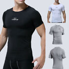 Sports Plus Men's New Fitness Training Clothes Short Sleeve Outdoor Blouse Tops