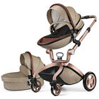2019 Hot mom Baby Stroller 3 in 1 Carriage buggy Bassinet Pushchair&car seat