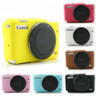 Silicone Rubber Camera Bag Body Cover Case Skin For Canon EOS M100 M10 M50 M6 M3