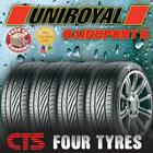 225 45 17 91Y UNIROYAL RAINSPORT 5 AMAZING( A ) RATED WET GRIP TOP QUALITY TYRES
