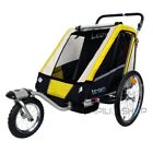 LEON Bike bicycle trailer for kids two 2 baby child stroller children jogger 1