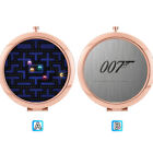 Funny Game James Bond 007 Folding Compact Makeup Mirror Cosmetic Beauty $6.61 CAD on eBay