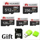 4K Huawei Pro 32-64-128-256-512GB High Speed Micro SD Card with Free Adapter