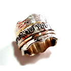 Elegant spinner ring for woman, Love ring, prayer rings Shema Israel Jewish ring