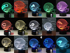 All Football Teams Collectible Decor Night Light Touch Lamp Gift- Men,Kids,Women on eBay