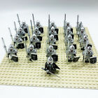 Figure Army - 21 x Custom Historic/ Fantasy Soldiers - with Weapons fits LEGO®