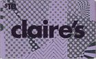 Claire's US Jewelry Store Gift Cards - Collectible Only / No Value - You Pick!