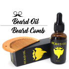 Thicker Beard Oil Men-Grooms Beard Mustache boosts growth Male Beard Balm 30ml