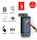 For Nintendo Switch 9H + Real Premium Tempered Glass Screen Protector Film Clear