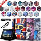 'For Tesco Hudl 1 2 /windows Connect 7 8 10 Tablet Folio Stand Leather Cover Case