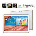 """10.1"""" Inch Android 7 Tablet PC 64G 3G Dual Sim Phablet GPS Bundled Keyboard AA"""