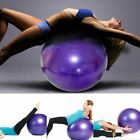 Exercise Yoga Ball with Free Air Pump 400 lbs Anti-Burst Slip-Resistant Balance image