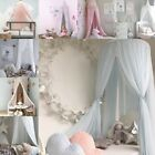Child Baby Bed Canopy Netting Bedcover Mosquito Net Curtain Bedding Dome Tent US image
