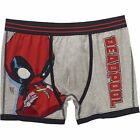 Marvel Comics Deadpool Chibi Big Men's Boxer Brief New