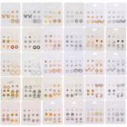 Wholesale Lot 50 Pairs New Assorted Cute Stud Earrings - FREE SHIPPING