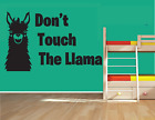 LLAMA WALL ART STICKER QUOTE DECAL BOY GIRL ANIMAL HUMOUR HOMR DECOR...