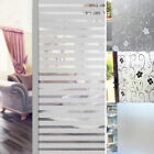 1PC 2M Room Bathroom Glass Window Door Privacy Film Sticker PVC Frosted New