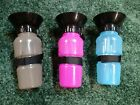 Dog Water Bottle Auto Mug Puppy Camping Walk Outdoor Options Pink Black or Blue!