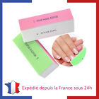 Lot de Blocs Polissoirs 4 Faces / 4 Tapes Lime à Ongles Buffer Manucure Nail Art