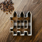 Picket Fence Cookie Cutter - Fondant - Biscuit - 3 Sizes -