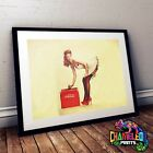 Coca Cola Pin Up Girl Poster A3 A4 Pin Up Girl Poster £3.99  on eBay