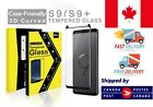 Samsung Galaxy S9 S9+ plus Tempered Glass Screen Protecto Case Friendly Curved
