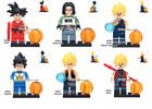 Lego Firgures Dragon Ball Goku With Different Suit Tien Shinhan Vegeta