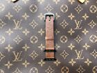 Apple Watch LV Gucci burbery Grid Pattern Apple watch 1/2//3/4  Band Strap