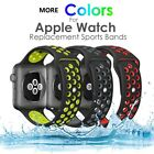 Silicone Sport Watch Band Strap For Apple Watch iWatch 4 3 2 1 40/44/38/42mm image