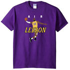 """Lebron James Lakers Los Angeles Lakers """"AIR PIC"""" T-Shirt on eBay"""